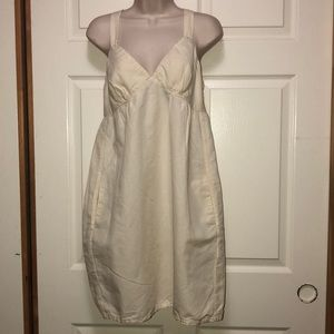 James perse linen dress with pockets